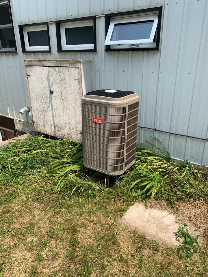 Bryant AC repair in maple plain Mn