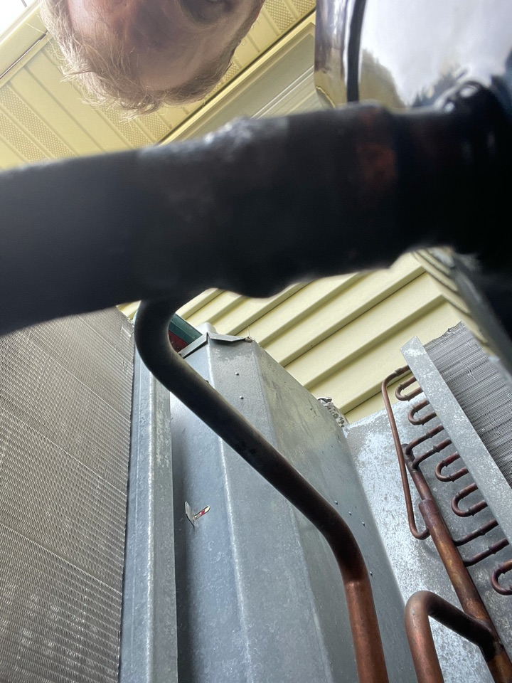 Mound, MN - Repaired a leaking ac drain line at a home in Orono, MN!