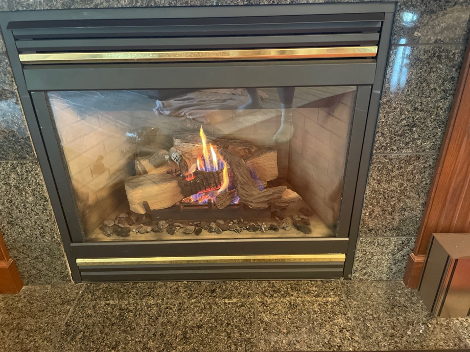 Repaired a Lennox fireplace at a home in loretto, MN!