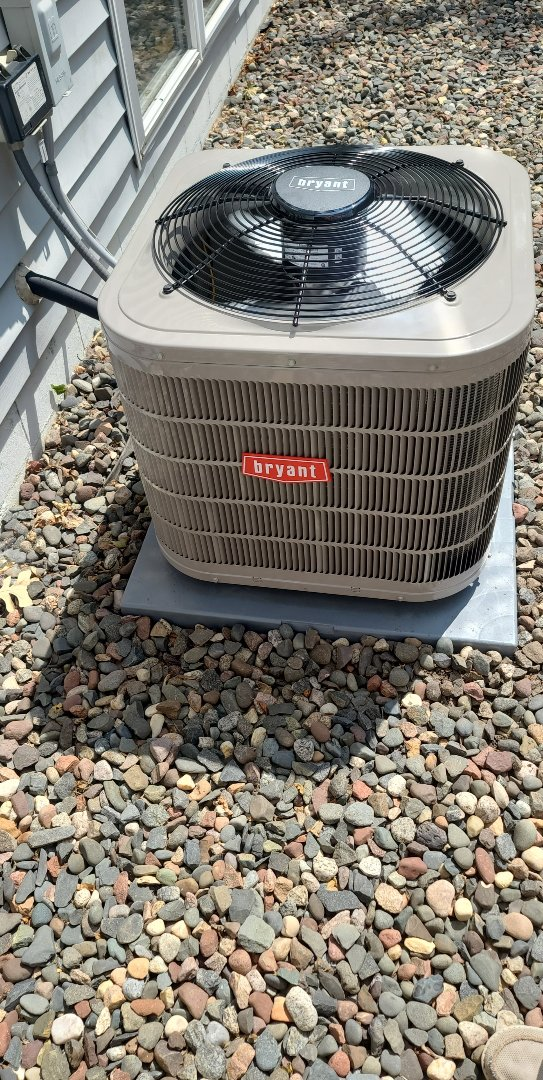 Bryant A/C installed rockford mn
