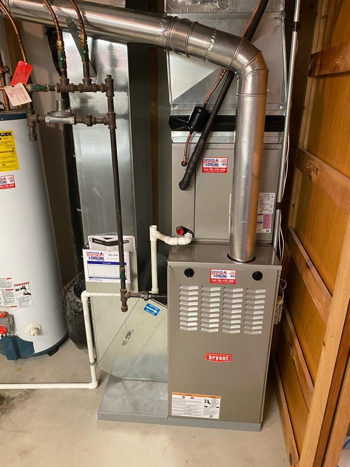 Bryant furnace ac install Rockford MN