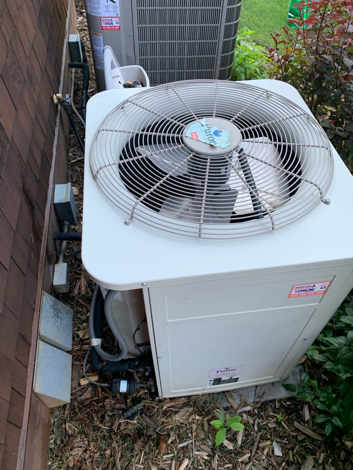 Ac cleaning mound Mn