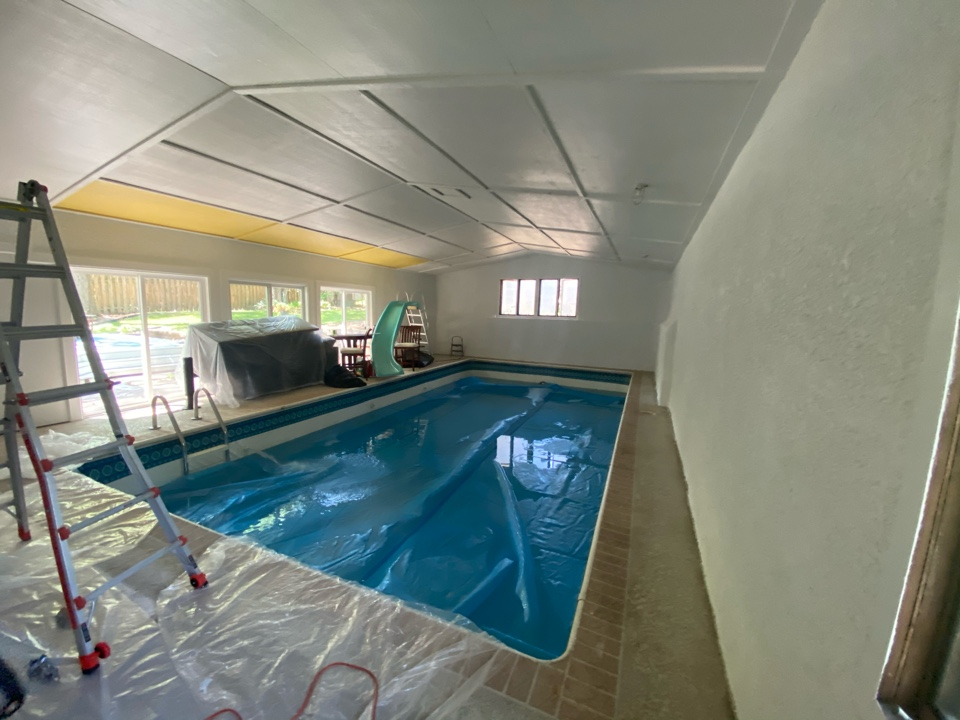 Unit heater and air exchanger estimate for indoor pool room