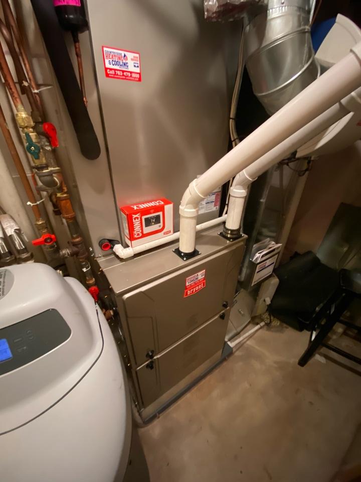 Buffalo, MN - Bryant furnace and ac install Buffalo MN