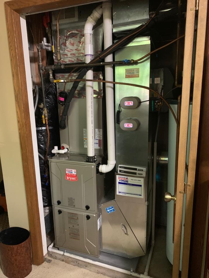 Install new Bryant evolution extreme heat pump in Greenwood MN