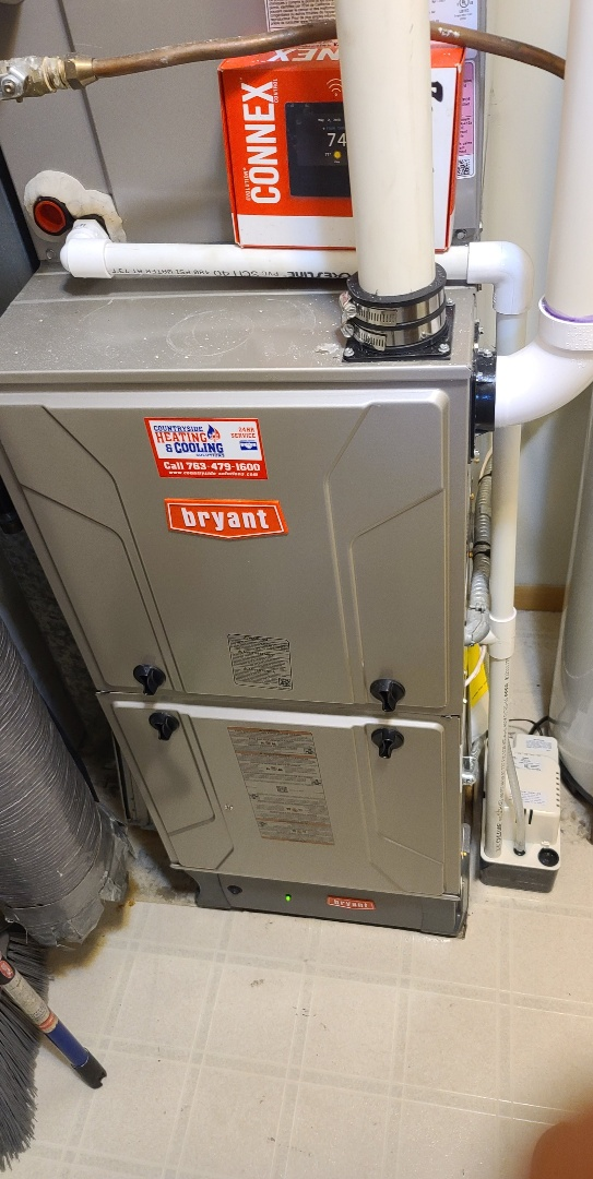 Annandale, MN - Gas pressure bryant furnace Annandale MN