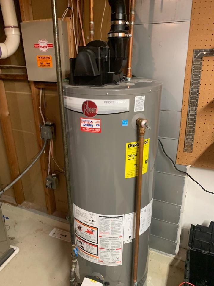 Water heater repair in Orono Mn