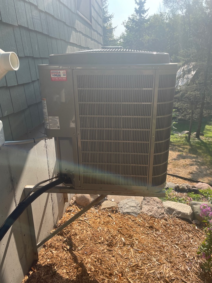 Installed utility curtailment on a Bryant ac at a home in cokato, MN!