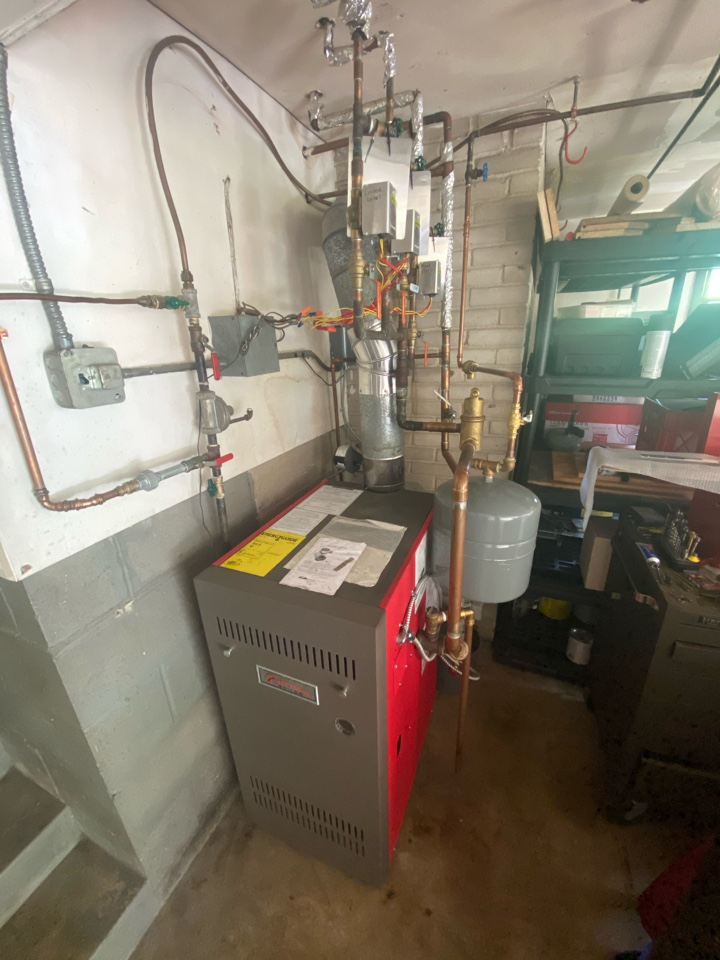 Hydronic boiler replacement estimate in Mound, MN
