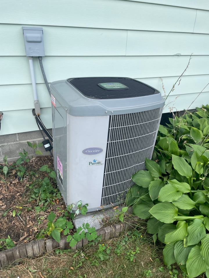 Repaired a carrier ac at a home in Norwood young America! MN!