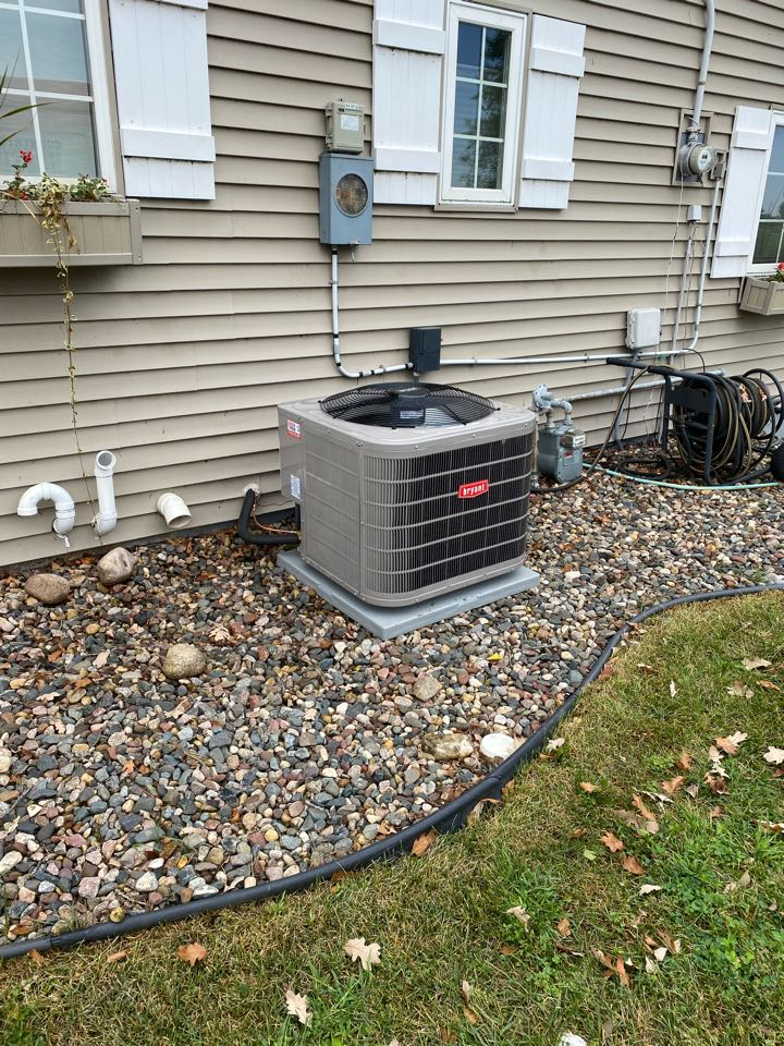 Annandale, MN - Bryant ac install Annandale MN