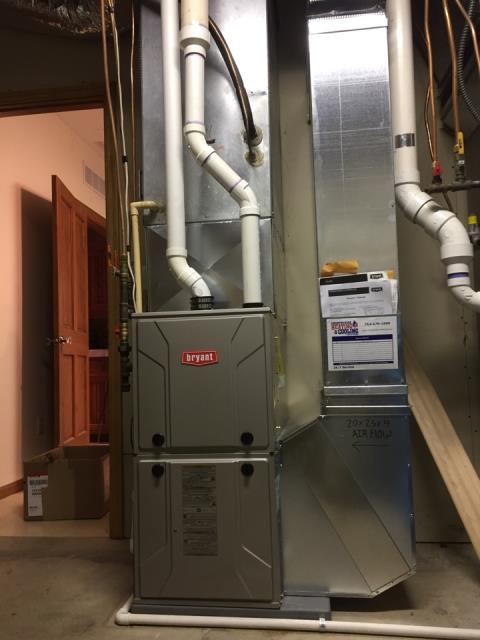 Repaired a Bryant thermostat at a home in Eden prairie, MN!