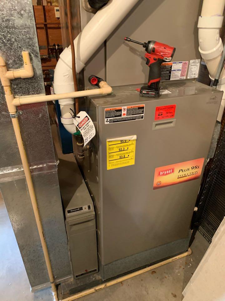 Furnace maintenance in minnetrista Mn
