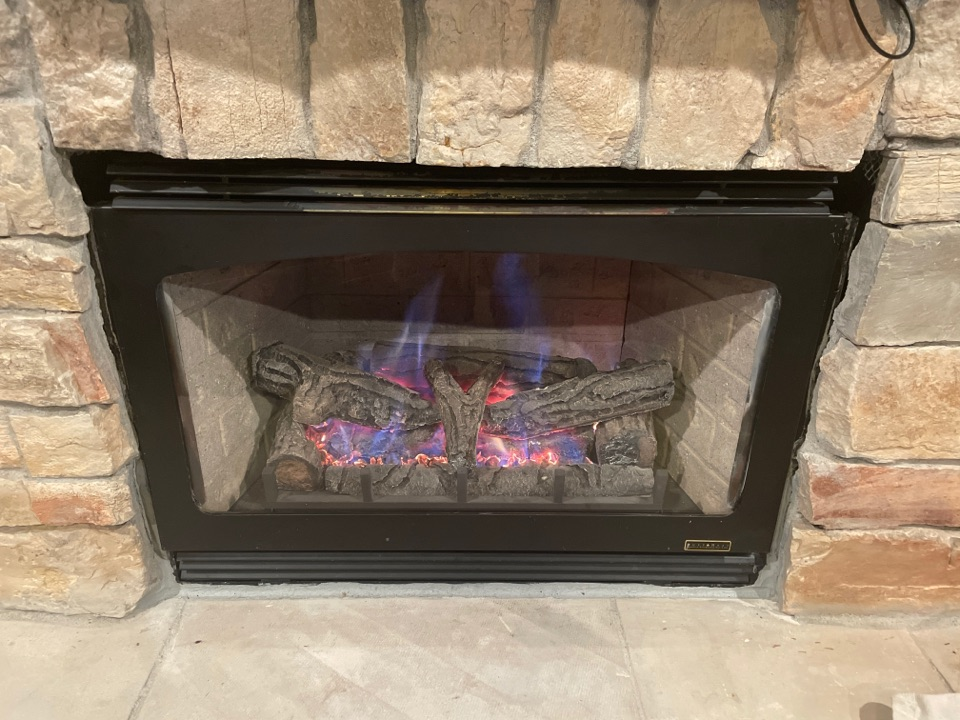 Repaired a lost heat fireplace at a home in excelsior, MN!