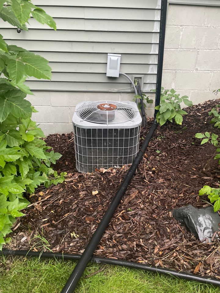 Repaired a carrier ac at a home in lakeville, MN!