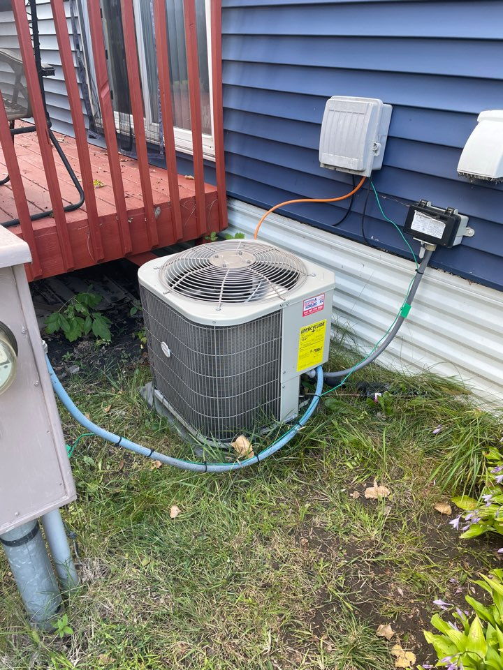 Repaired a Payne ac at a home in Watertown, MN!