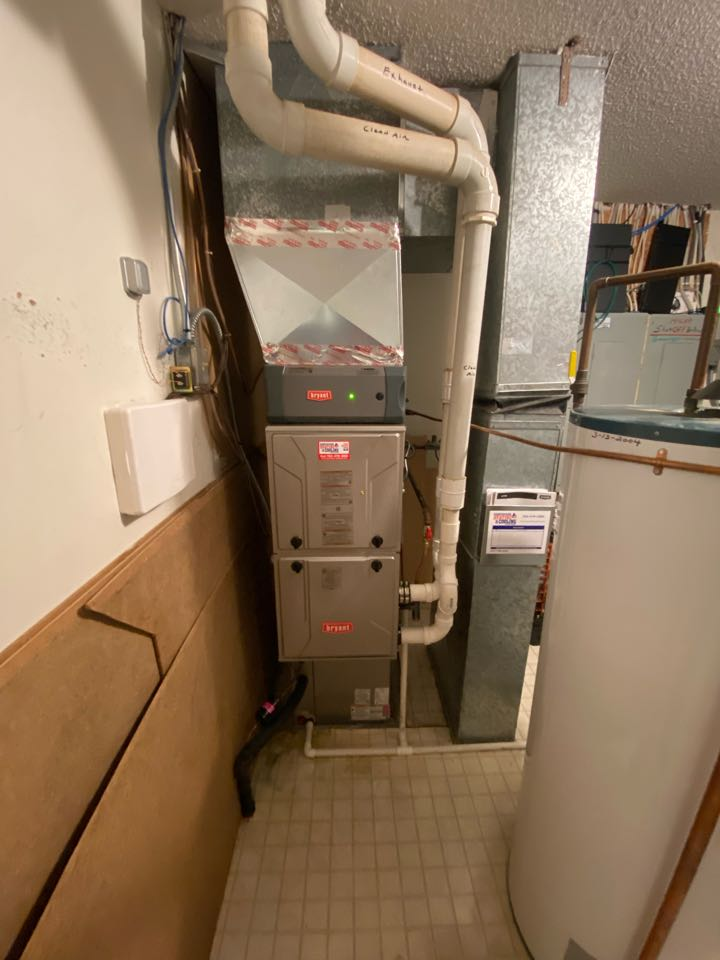 Bryant furnace and ac install Excelsior MN