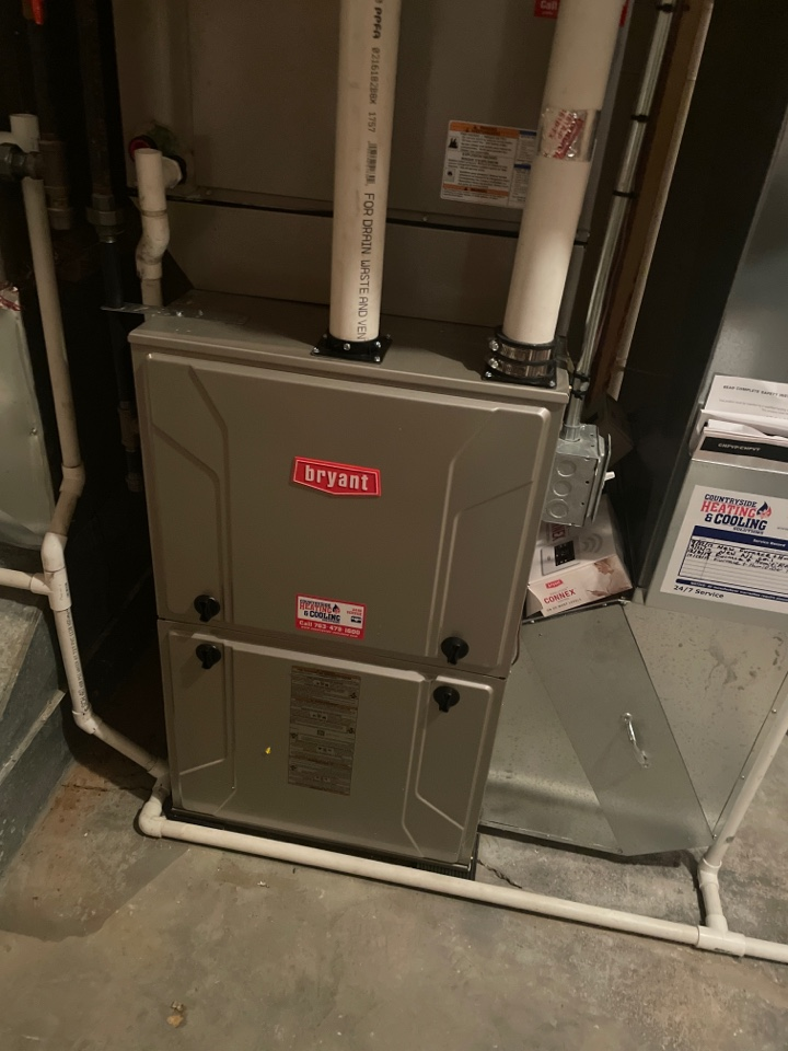 Repaired a Bryant furnace at a ho e in Eden prairie, MN!