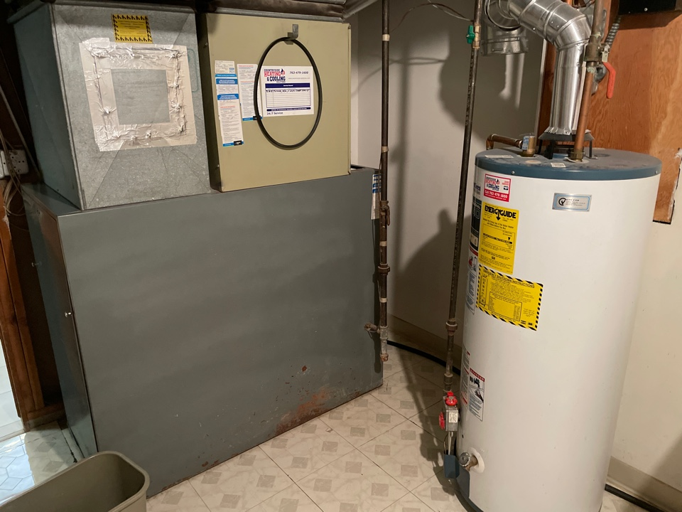 Tuned up a furnace and water heater at a home in long lake, MN!