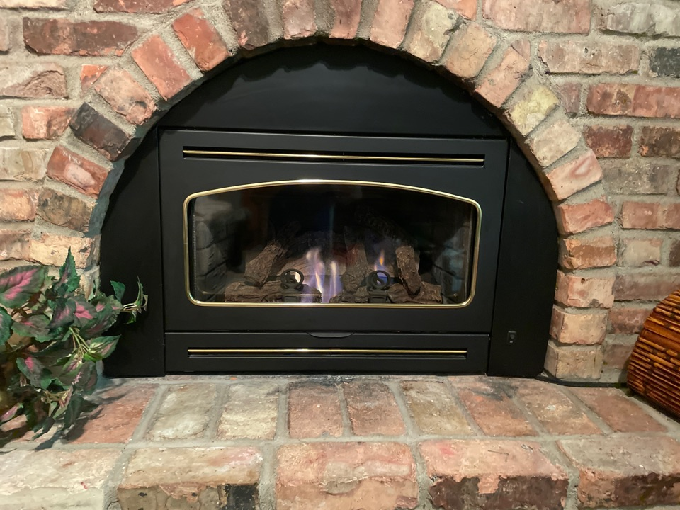 Repaired a gas fireplace at a home in Egan, MN!
