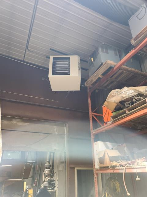 Reznor Garage heater install Plymouth MN