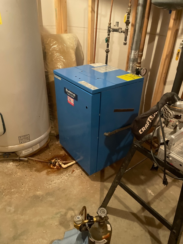 Performed a tune up on a boiler at a home in independence, MN!
