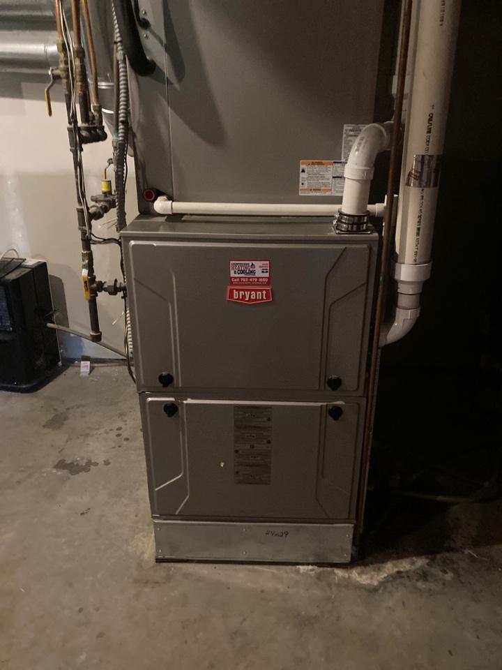 Bryant furnace maintenance in Loretto