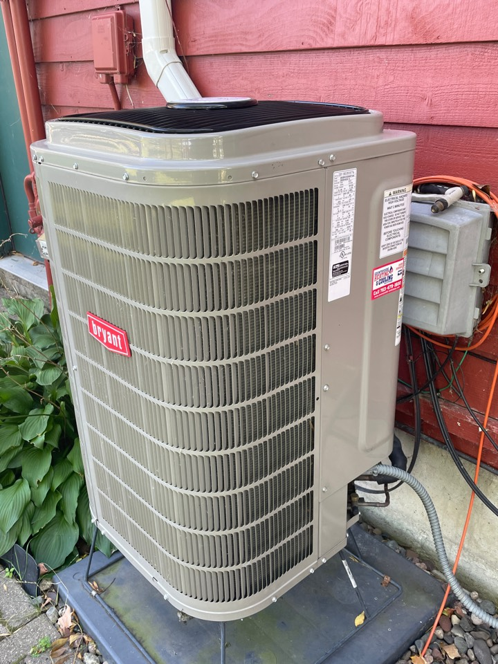 Replaced a inverter on a Bryant ac at a home in mound, MN!