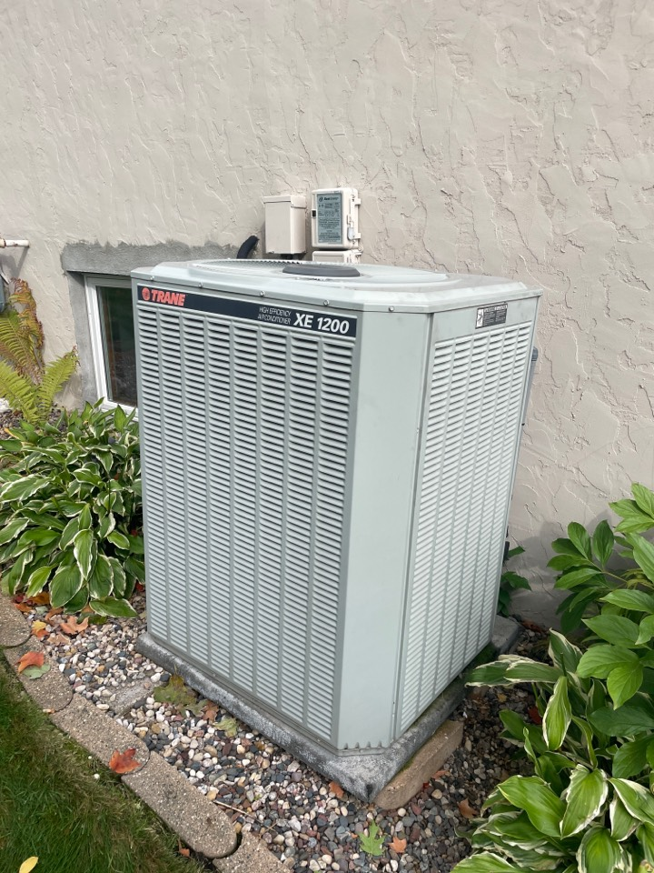 Diagnosed a failed trane ac at a home in mound, MN!