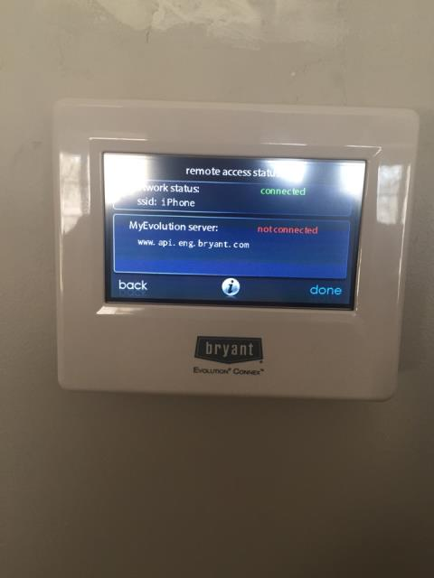 Performed a software update on a Bryant furnace at a home in excelsior, MN!