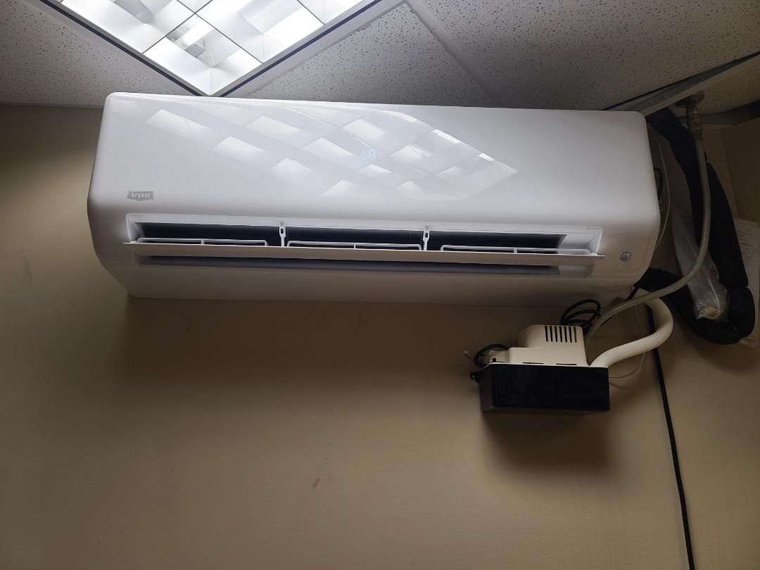 Mini split system installed Maple Grove MN