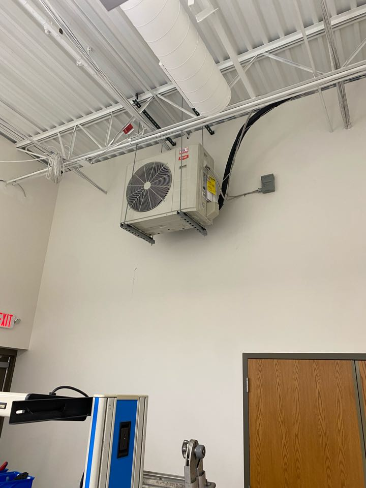Bryant ductless ac unit install Maple Grove MN