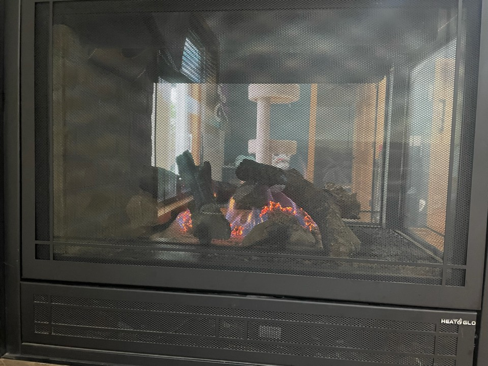 Repaired a heat n glo fireplace at a home in Delano, MN!