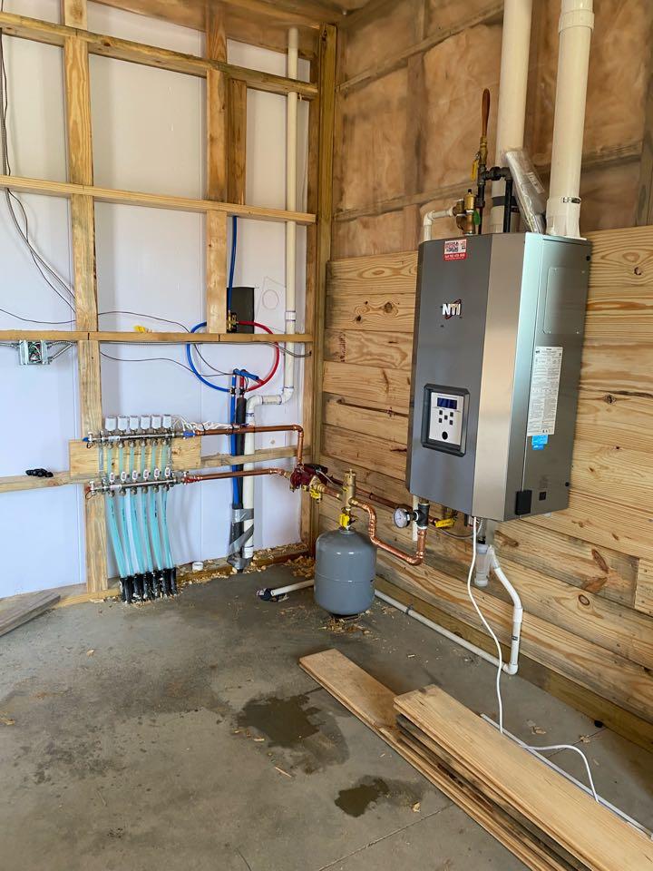 Dassel, MN - Nti boiler install Dassel MN