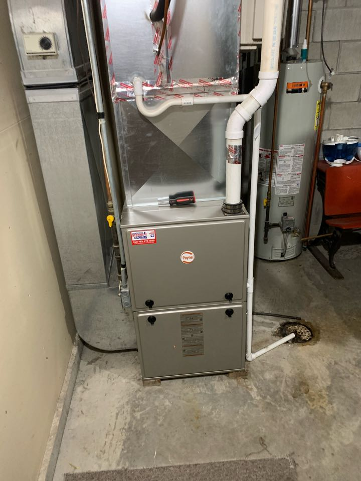 Lester Prairie, MN - Furnace repair in Delano Mn  - need to return with parts