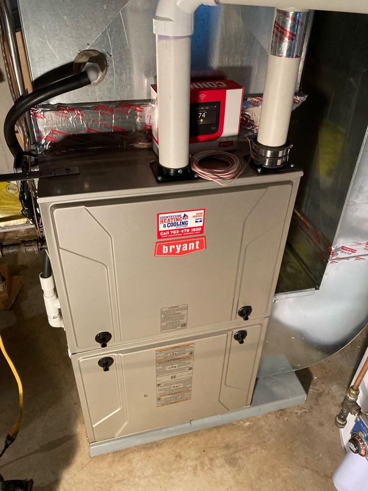 Bryant furnace maintenance in Plymouth