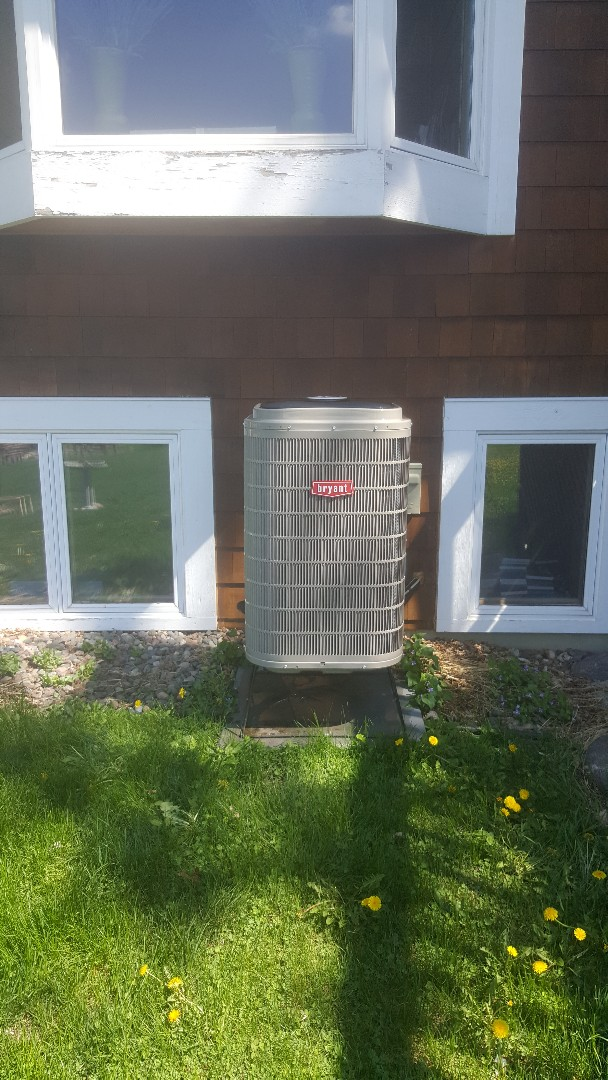 Delano, MN - Performing 2 tune ups in Delano Mn.   1 Bryant Heat Pump and 1 ac.