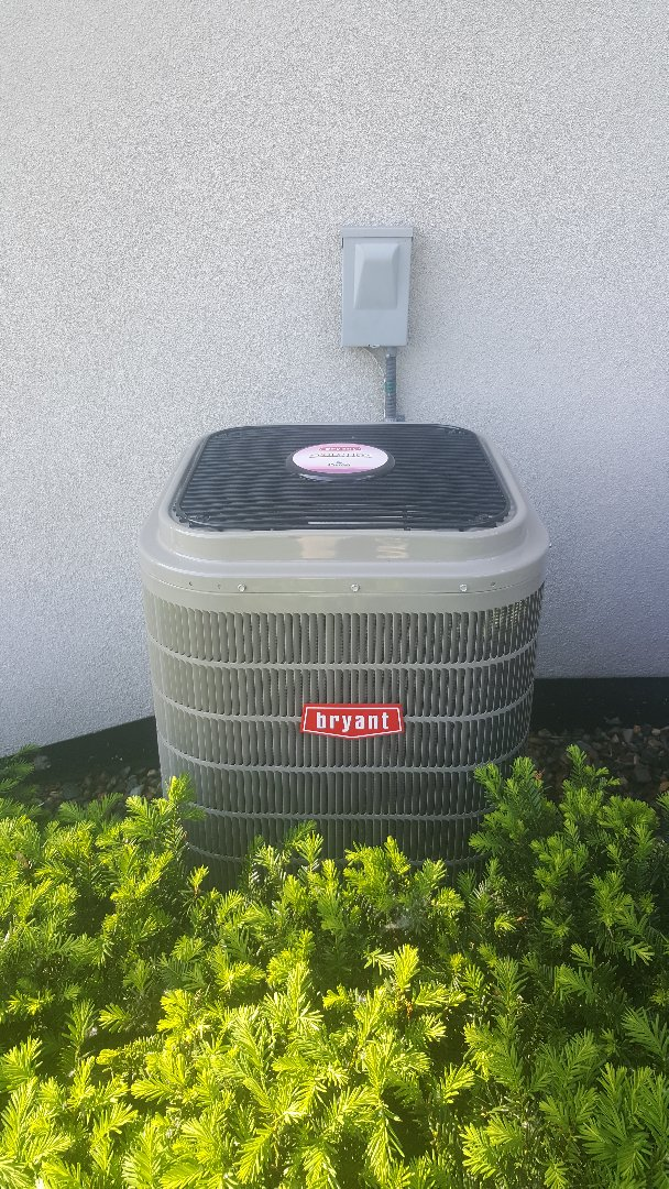 Minnetonka, MN - Performed ac tune up on Bryant system in Plymouth