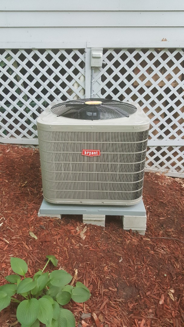 Plymouth, MN - Installed Bryant AC unit in Plymouth