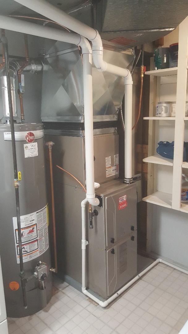 Minneapolis, MN - Installing Bryant AC furnace in Edina