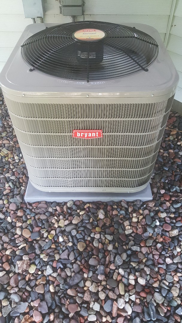 Plymouth, MN - Performed tuneups on both a Bryant furnace and Bryant AC in Plymouth