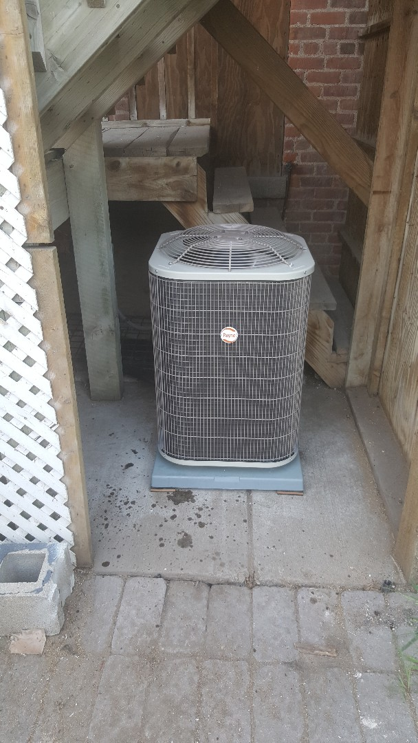 Delano, MN - Installing furnace and air conditioning in Delano