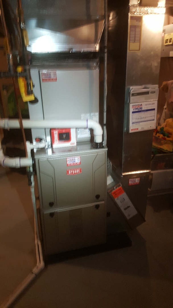 Minneapolis, MN - Installing new Bryant AC and furnace