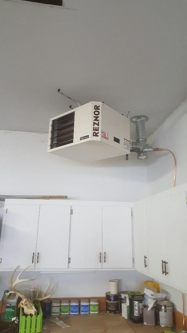 Maple Plain, MN - Installing gas garage heater in Maple Plain