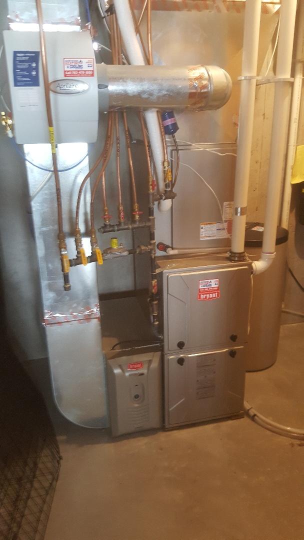 Wayzata, MN - Performing furnace tune-up in Wayzata