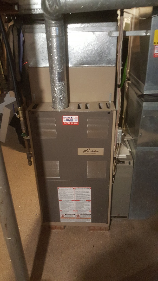 Independence, MN - working on furnace in Maple Plain