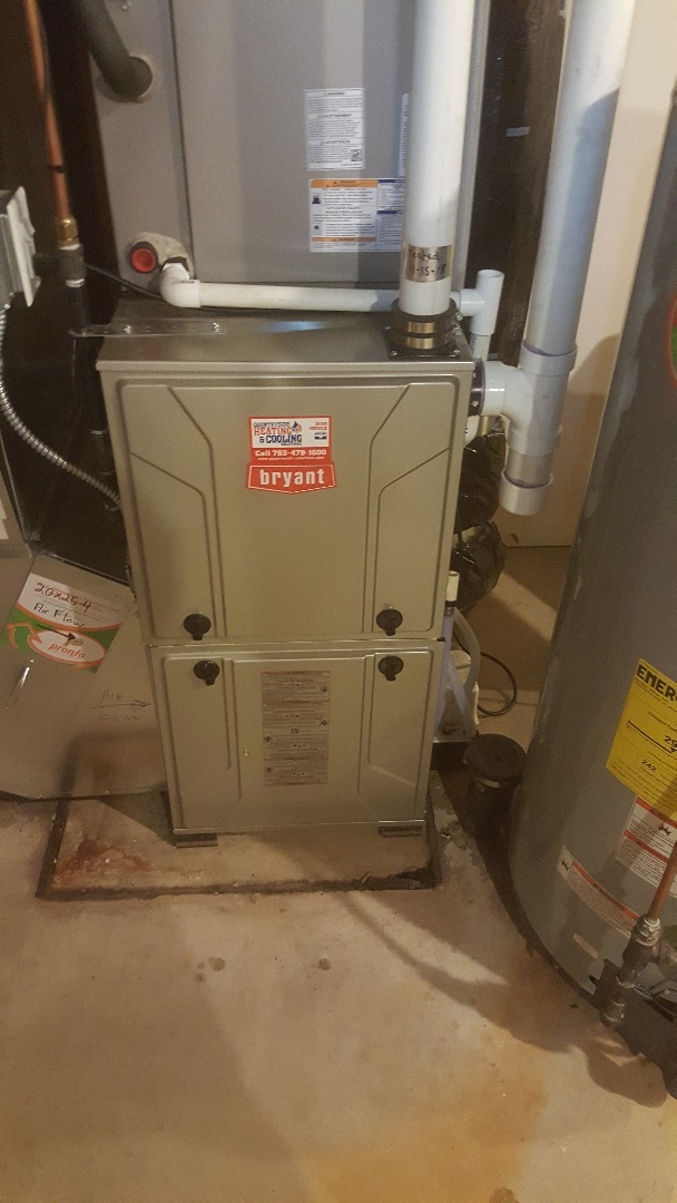 Minneapolis, MN - Replace condensate trap on Bryant furnace in Bloomington