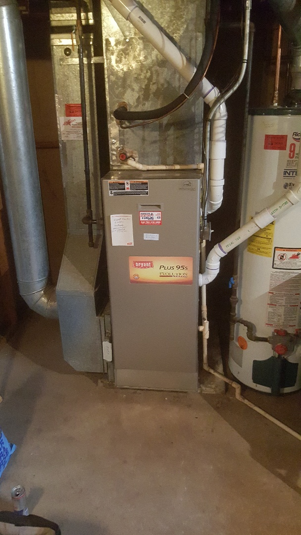 Hopkins, MN - Installing new heat exchanger in Bryant furnace in Hopkins