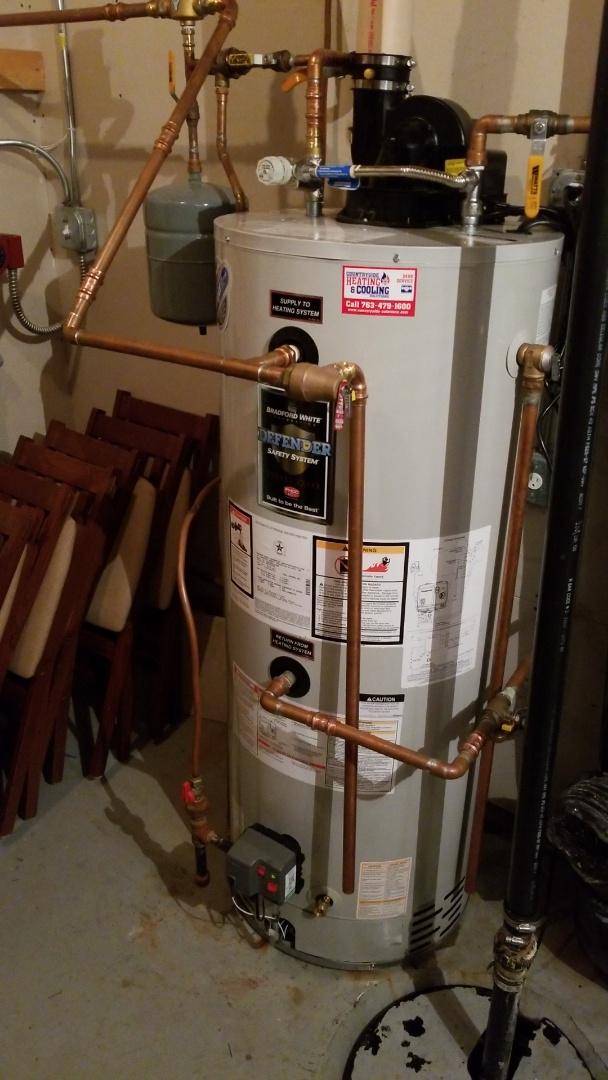 Minnetonka, MN - Installed new water heater in Minnetonka