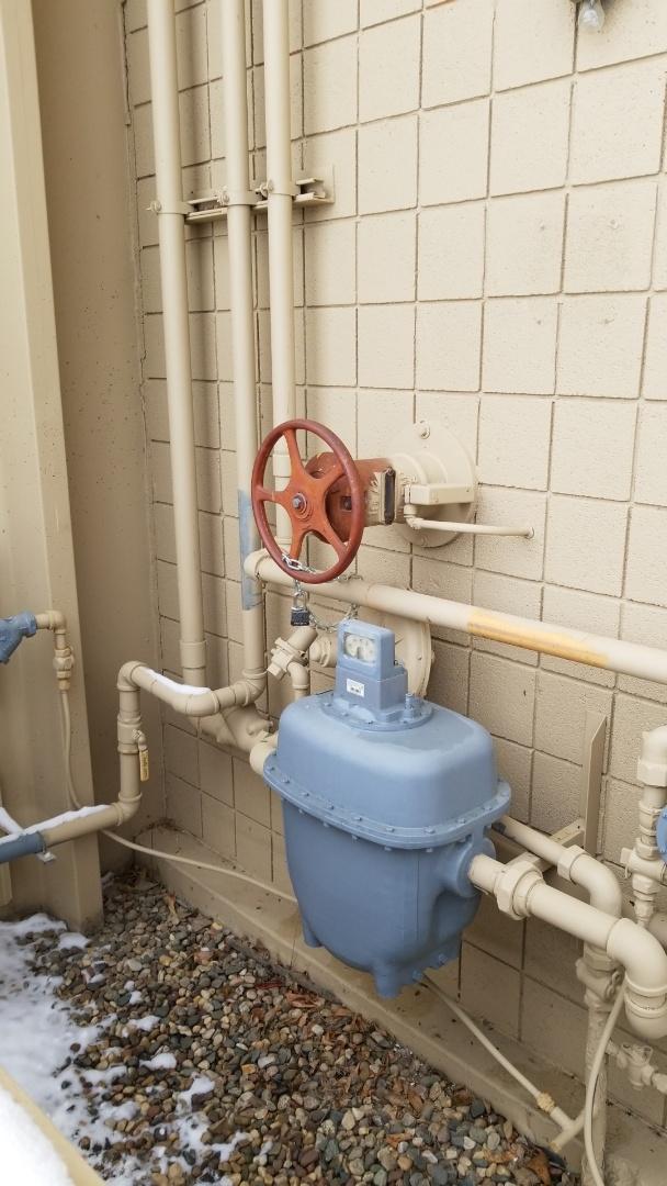 Chaska, MN - Measuring gas line BTUs in Chanhassen